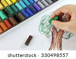 drawing tree from little... | Shutterstock . vector #330498557