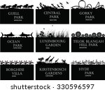 park  national parks of the... | Shutterstock .eps vector #330596597
