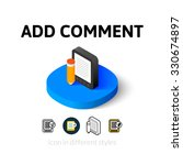 add comment icon  vector symbol ...