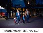 group of friends enjoying... | Shutterstock . vector #330729167
