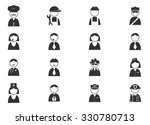 occupation icons and people... | Shutterstock .eps vector #330780713