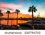 beautiful sunset sky in the... | Shutterstock . vector #330796703
