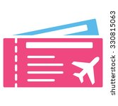 airtickets vector icon. style... | Shutterstock .eps vector #330815063