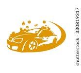 car wash bubbles service | Shutterstock .eps vector #330819317
