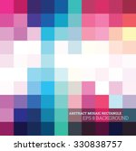 abstract mosaic colorful bright ... | Shutterstock .eps vector #330838757