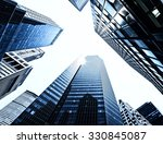 skyscrapers from below | Shutterstock . vector #330845087