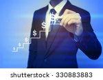 closeup image of businessman... | Shutterstock . vector #330883883