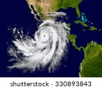 illustration of hurricane... | Shutterstock . vector #330893843