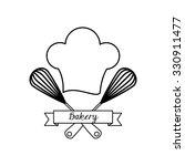 baker service design  vector... | Shutterstock .eps vector #330911477