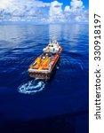 offshore cargo industry oil and ... | Shutterstock . vector #330918197