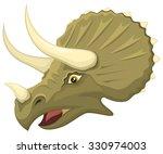 vector illustration of the head ...   Shutterstock .eps vector #330974003