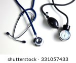 blood pressure meter medical... | Shutterstock . vector #331057433