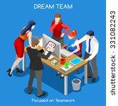 Startup Teamwork Brainstorming...