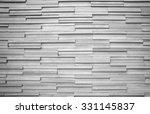 the white modern granite wall... | Shutterstock . vector #331145837