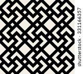 vector seamless black and white ... | Shutterstock .eps vector #331166357