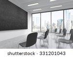 a classroom or presentation... | Shutterstock . vector #331201043