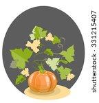 pumpkin | Shutterstock .eps vector #331215407