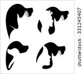 dog logo | Shutterstock .eps vector #331245407