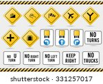 american traffic signs | Shutterstock .eps vector #331257017
