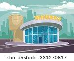 shop building. vector flat... | Shutterstock .eps vector #331270817