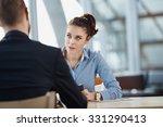 job interview   recruiter... | Shutterstock . vector #331290413