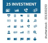 investment  finance icons | Shutterstock .eps vector #331333253