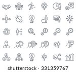 business and finance icon set... | Shutterstock .eps vector #331359767