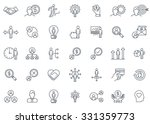 business and finance icon set... | Shutterstock .eps vector #331359773