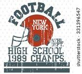 football athletics sport... | Shutterstock .eps vector #331396547