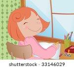 vector illustration of little... | Shutterstock .eps vector #33146029
