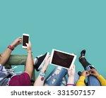 people technology online social ... | Shutterstock . vector #331507157