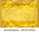 certificate  diploma of... | Shutterstock . vector #331511423