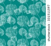 seamless  pattern with leaves.... | Shutterstock .eps vector #331511597
