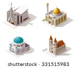 Vector Isometric Icon Set Or...
