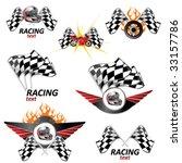 racing set  3 | Shutterstock .eps vector #33157786