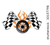 racing sign  3 | Shutterstock .eps vector #33157798
