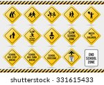 american traffic signs | Shutterstock .eps vector #331615433