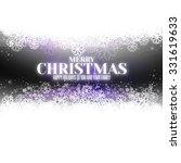 modern merry christmas... | Shutterstock .eps vector #331619633