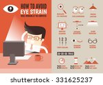 healthcare infographic cartoon... | Shutterstock .eps vector #331625237