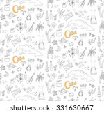 seamless background set of hand ... | Shutterstock .eps vector #331630667