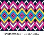 geometric ethnic pattern... | Shutterstock .eps vector #331643867
