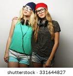 studio lifestyle portrait of... | Shutterstock . vector #331644827