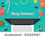 Christmas Website Header Desig...