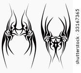 tribal tattoo   Shutterstock .eps vector #33167365