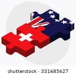 switzerland and cook islands... | Shutterstock .eps vector #331685627