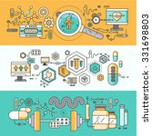 concept study of human medicine.... | Shutterstock . vector #331698803