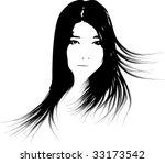 girl | Shutterstock .eps vector #33173542
