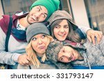 group of best friends taking... | Shutterstock . vector #331793147