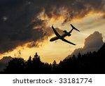 minatory clouds of a... | Shutterstock . vector #33181774