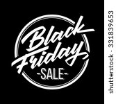 black friday sale badge with... | Shutterstock .eps vector #331839653